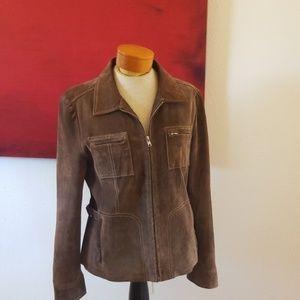 True grit leather jacket